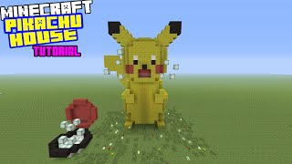 Minecraft Tutorial: How To Make A Pikachu House