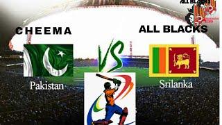 buddy cricket tournament  pakistan vs sri lanka
