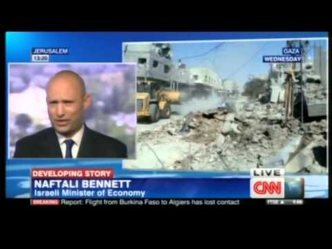 Bennett to CNN: We will continue until we disarm Hamas