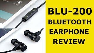 BLU 200 Bluetooth  Earphone-REVIEW [MALAYALAM]