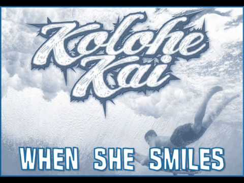 Kolohe Kai - When She Smiles (audio) [new Song 2014] video