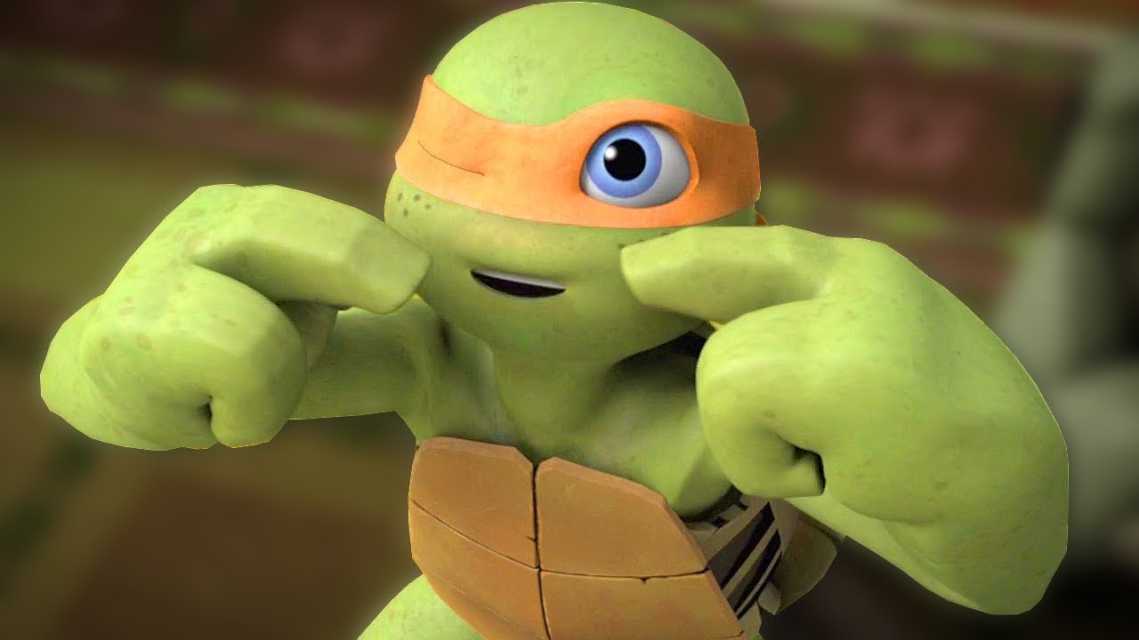 Teenage Mutant Ninja Turtles Legends - Part 114 - Baby Turtles Sleeping