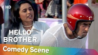Hello Brother - Salman Khan - Hit Comedy Scene - Shemaroo Bollywood Comedy