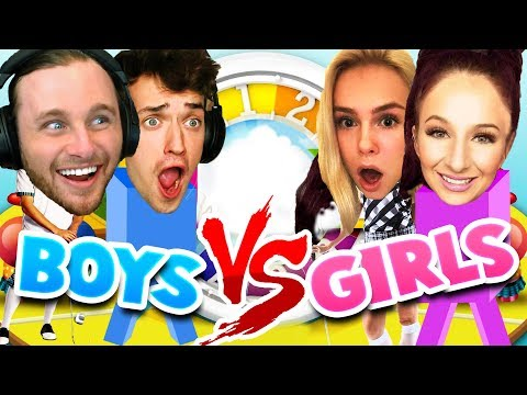 Girls Vs Boys Game Of Life Rematch