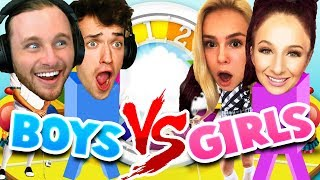 GIRLS VS BOYS: THE GAME OF LIFE!! (rematch)