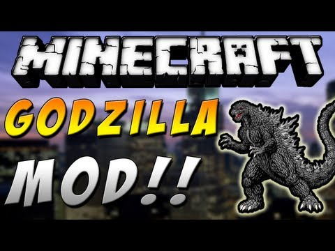 Minecraft 1.6.4 - Review de GODZILLA MOD - ESPAÑOL TUTORIAL