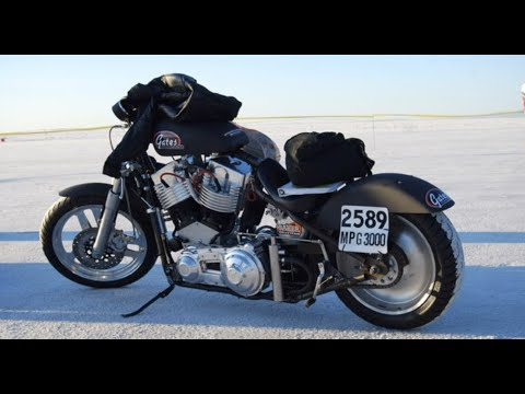 "Bonnevill Stories Part VIII ""Gates 158 Cubic Inch Monster V-Twin Motorcycle"""