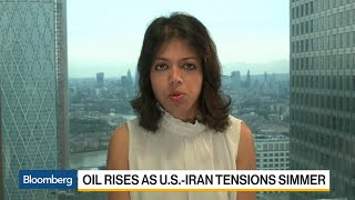 Oil Analyst Sen Says Iran's Exports Are 'Close to Zero'
