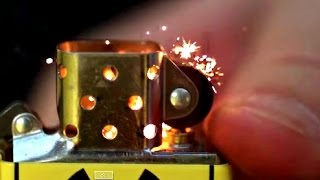 Zippo Lighter in Slow Motion (CLOSE UP!) | Slow Mo Lab