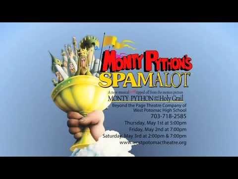 Monty Python's Spamalot at West Potomac High School
