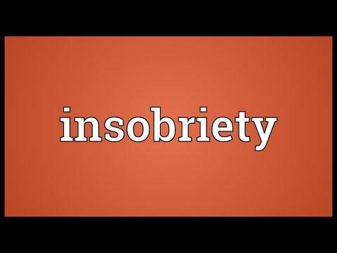 Header of insobriety