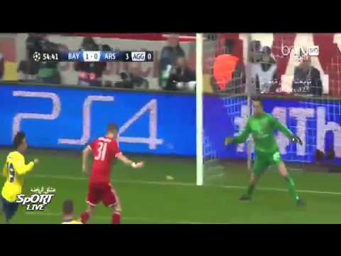 Bayern Munich 1-1 Arsenal goals And Highlights Champions League