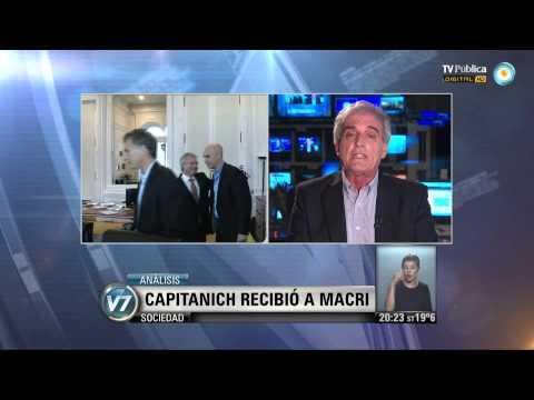 Visión 7: Capitanich recibió a Macri