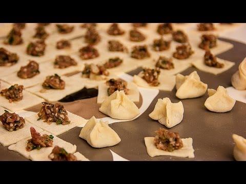 Türkisch kochen ~ Mantı (gefüllte Teigtaschen) 12 11 2013  WDR daheim+unterwegs