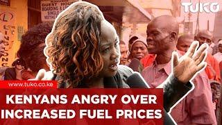 Breaking News Kenya: Kenyans Angry Over High Fuel Prices | Tuko TV