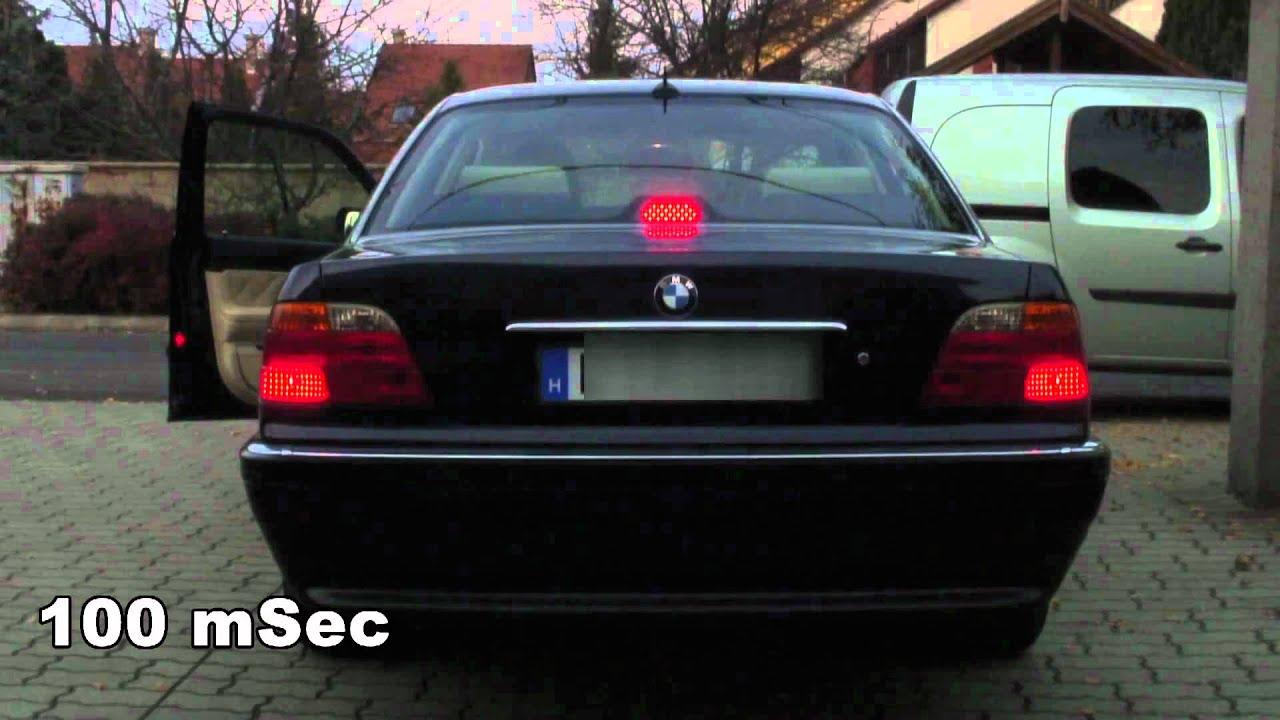 Bmw 750li 2014 >> BMW E38 LED Center Brake Light - YouTube