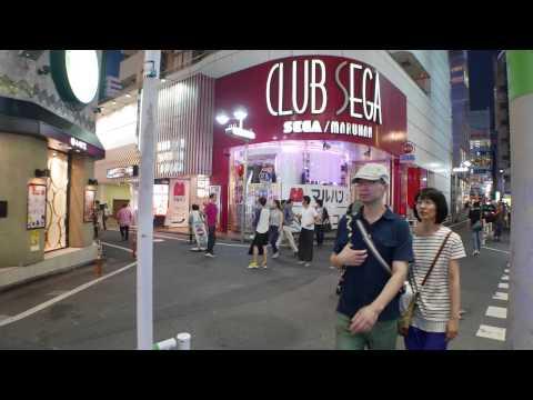tokyo japan today's shibuya saturday evening sept 2015