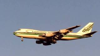 Evergreen International Airlines Boeing 747-200 Approaching New York