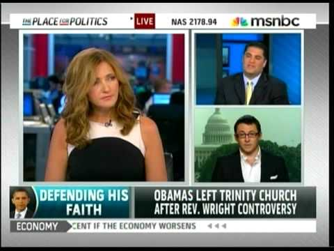 MSNBC: Cenk On Obama & Religion