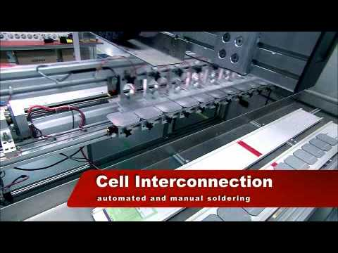 Suntech Power: How Suntech Photovoltaic Cells and Modules are Made (English Version)