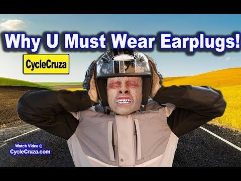 Motorcycle Riding Tinnitus is a Bitch - Wear Ear Plugs or Suffer for Life