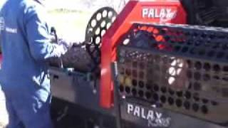 Palax KS35 Firewood Processor previous model