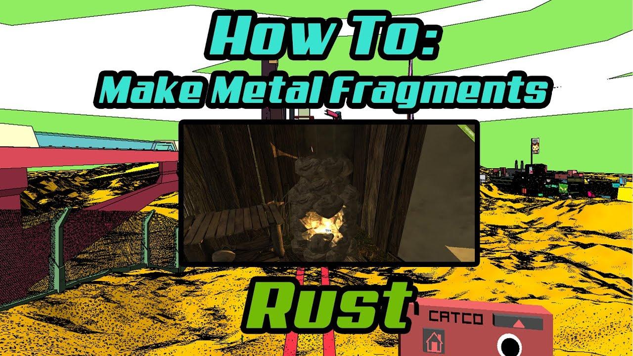 Как сделать в раст метал
