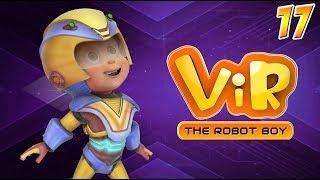 Vir: The Robot Boy | Hindi Cartoon Series For Kids | Vir Vs Cat Mona | Action Cartoons | Wow Kidz
