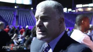 Jim Lampley breaks down in tears over story of Muhammad Ali & his daughter