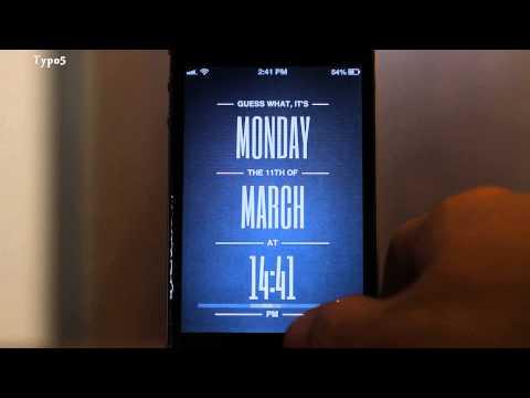 Top 5 Lockscreen Themes of 2013   iPhone 4 / iPhone 5 [HD]