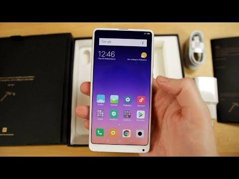 Xiaomi Mi Mix 2s Global Ελληνικό Unboxing & Hands-On [Greek]