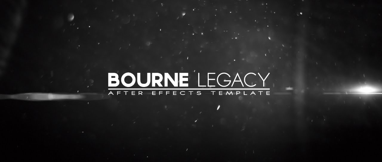 bourne legacy title after effects template youtube. Black Bedroom Furniture Sets. Home Design Ideas