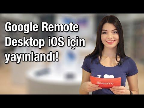 Google Remote Desktop iOS için Yayınlandı!