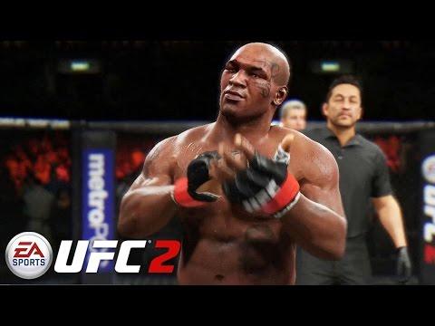 EA Sports UFC 2 - Mike Tyson vs Fabricio Werdum Gameplay PS4 / Xbox One