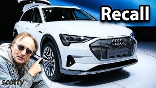 Breaking News: Audi Recalls Their Brand New Cars