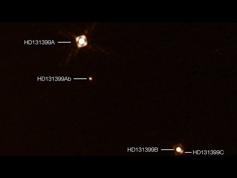 HD 131399Ab – an exoplanet with three suns