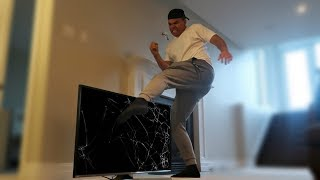 BROTHER HIDDEN CAMERA RAGE!! (BREAKS TV)