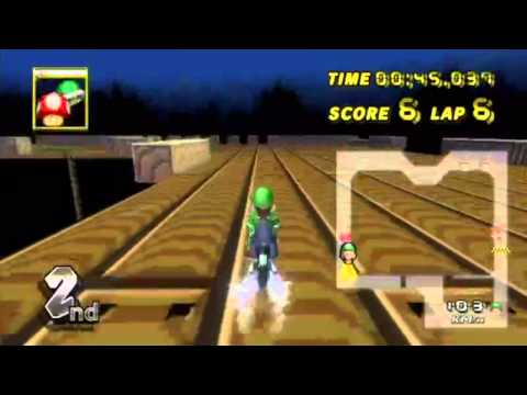 Mario Kart Wii - Completing a Countdown race?