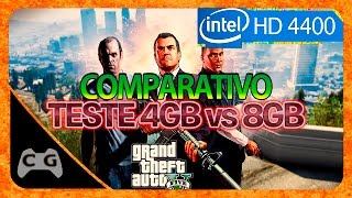GTA 5 Gameplay Intel HD Graphics - Teste 4gb de Ram #94