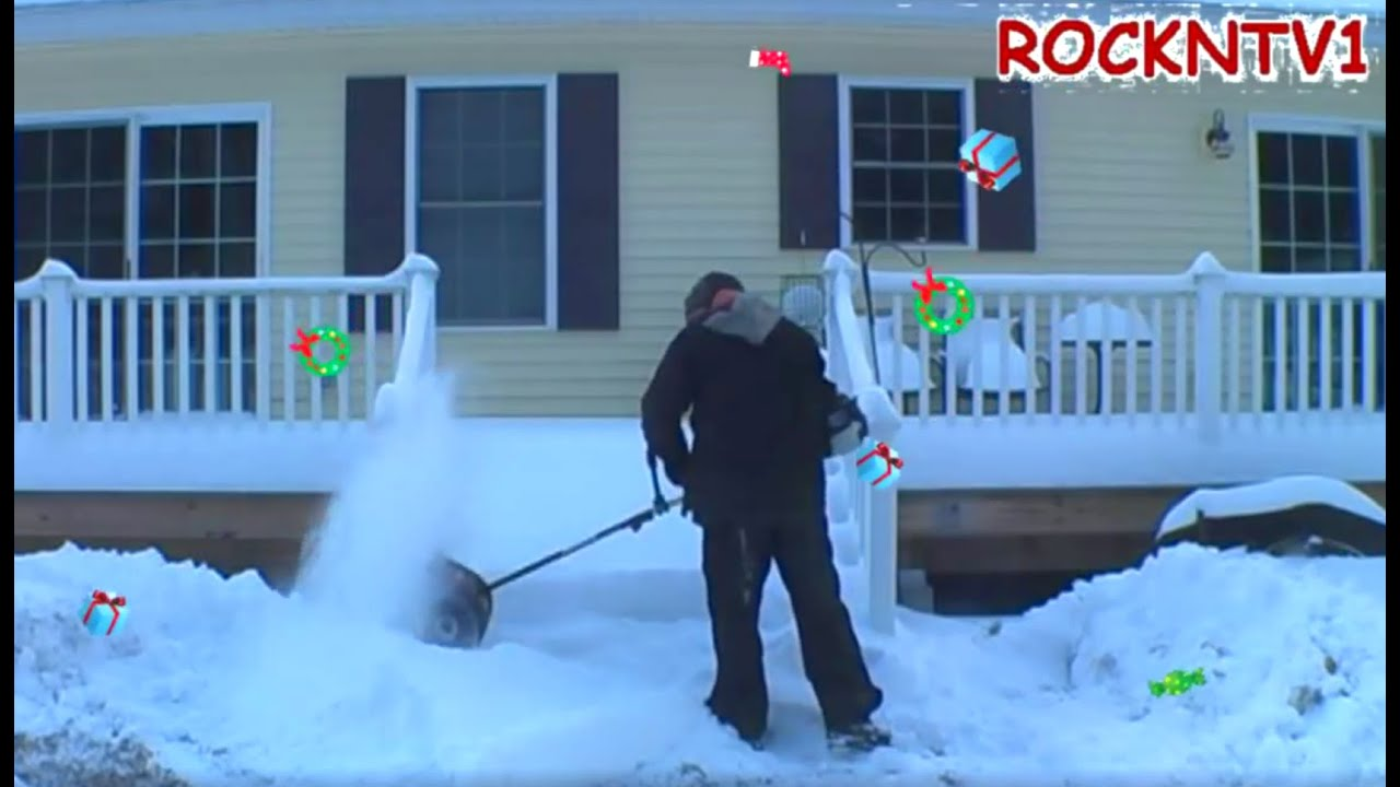 Power Broom Or Snow Shovel Craftsman 8 In 1 Attachment
