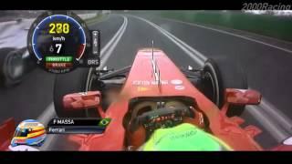 F1 2013 - R1 Australia - Onboard High