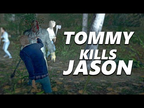 Friday the 13th the game - How to kill Jason With Tommy (EARLY ACCESS)