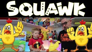 HOW TO PLAY SQUAWK !!! Fun game toy for kids, toddlers, and parents to play together. Good times.