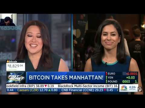 Cryptocurrency   Bitcoin Conference in Manhattan!   CNBC Fast Money
