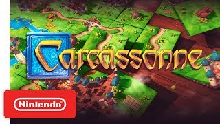 Carcassonne - Launch Trailer - Nintendo Switch