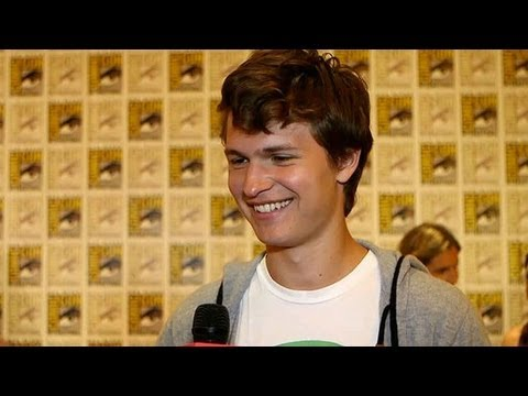Ansel Elgort Talks Playing Shailene's Brother, Then Lover in The Fault in Our Stars | Comic-Con 2013