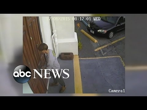 Dylann Roof Shooting Footage Shows Him Enter, Exit Church