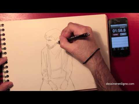 Réaliser un croquis en 3 minutes - Dessinerenligne.com