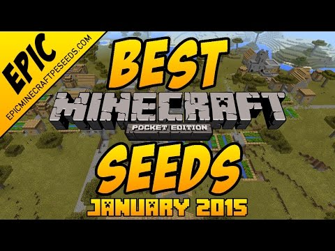 Best Minecraft PE Seeds - Jan 2015