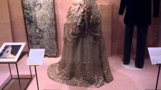 Spotlights of Museum wedding dresses from 1775 - 1899